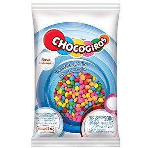 CONFETE SABOR CHOCOLATE CHOCOGIROS - COM 500G - MAVALÉRIO