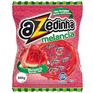BALA MASTIGÁVEL AZEDINHA MELANCIA - 600G COM  APROX. 100 UNIDADES - RICLAN