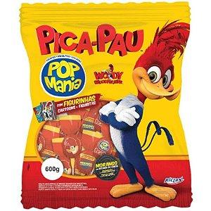 PIRULITO PICA PAU POP MANIA - 600G COM 50 UNIDADES - RICLAN