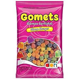 BALA DE GOMA GOMETS GOMAS SORTIDAS - 1KG - DORI