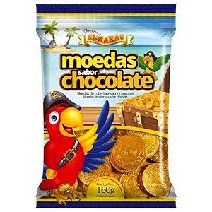 MOEDAS SABOR CHOCOLATE 160G - KI-KAKAU