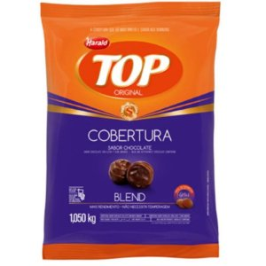 CHOCOLATE GOTAS COBERTURA TOP BLEND HARALD 1,050KG - HARALD