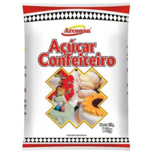 AÇÚCAR DE CONFEITEIRO - COM 1 KG - ARCOLOR