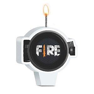 VELA DE ANIVERSÁRIO - FESTA FREE FIRE - 01 UNIDADE - JUNCO