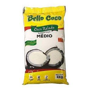 COCO RALADO MEDIO 1KG BELLO COCO