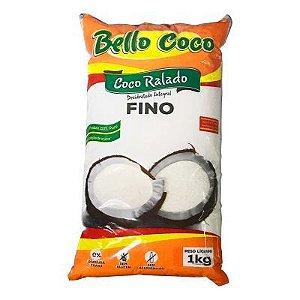 COCO RALADO FINO 1KG BELLO COCO