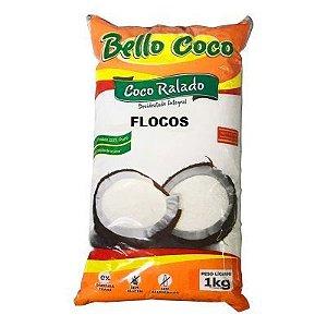 COCO RALADO FLOCOS 1KG BELLO COCO