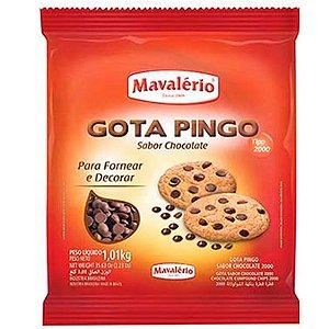 GOTA PINGO SABOR CHOCOLATE 1,010KG - MAVALÉRIO