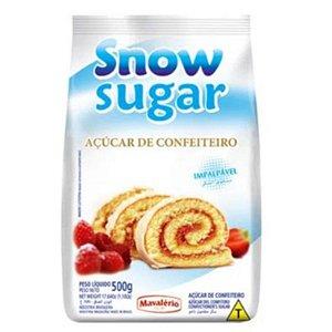 AÇÚCAR DE CONFEITEIRO - 500G -SNOW SUGAR - MAVALÉRIO
