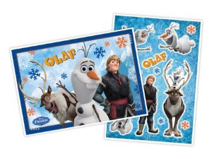 KIT PAINEL DECORATIVO OLAF FROZEN - REGINA FESTAS