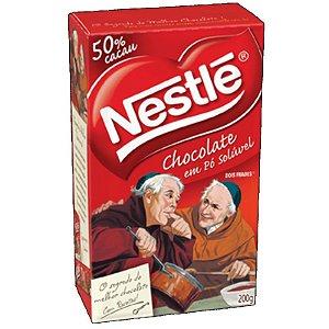 CHOCOLATE EM PÓ - 50% CACAU - 200G - 01 UNIDADE - NESTLE
