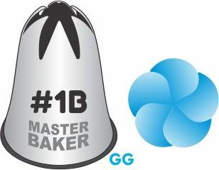 BICO DE CONFEITAR PITANGA FLOR #1B TAM GG COD 2246 UN MASTER BAKER
