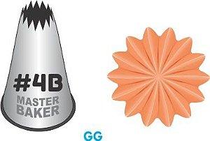 BICO DE CONFEITAR PITANGA ABERTA #4B TAM GG COD 2232 UN MASTER BAKER