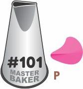 BICO DE CONFEITAR INOX PÉTALAS #101 TAM P COD 2229 UN MASTER BAKER
