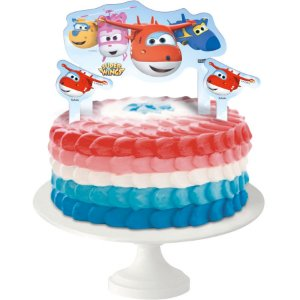 TOPPER PARA BOLO FESTA SUPER WINGS - 03 UNIDADES - FESTCOLOR