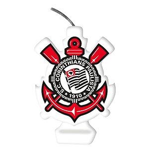 VELA DE ANIVERSÁRIO EMBLEMA CORINTHIANS - FESTCOLOR