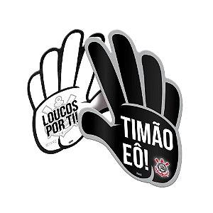 MÃO TORCEDOR FESTA CORINTHIANS - 06 UNIDADES - FESTCOLOR