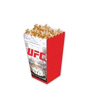 CAIXA PARA PIPOCA UFC 8 UNIDADES - FESTCOLOR