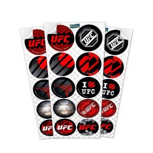 LEMBRANCINHA ADESIVOS UFC 03 CARTELAS - FESTCOLOR