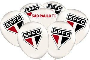BALÃO DE LÁTEX FESTA SÃO PAULO 25 UNIDADES - FESTCOLOR