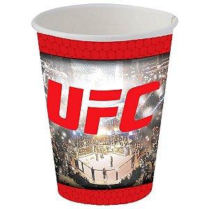 COPO DESCARTÁVEL UFC 300ML 08 UNIDADES - FESTCOLOR