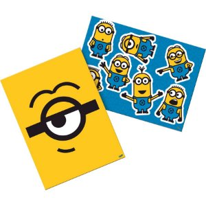 KIT DECORATIVO CARTONADO FESTA NEW MINIONS - FESTCOLOR