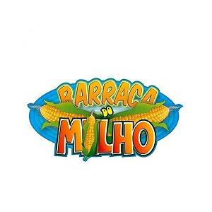 PLACA DE SINALIZAÇÃO  BARRACA DO  MILHO FESTA JUNINA - 01 UNIDADE - FESTA MALUCA