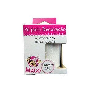 PÓ PARA DECORAÇÃO FURTACOR COM REFLEXO LILÁS 10G - 01 UNIDADE - MAGO