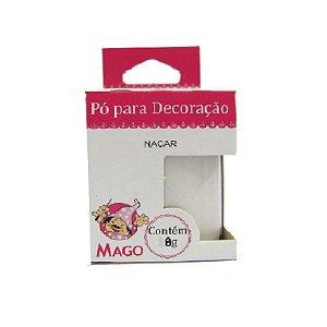 PÓ PARA DECORAÇÃO NACAR 8G  - 01 UNIDADE - MAGO