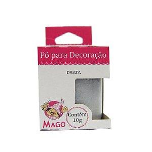 PÓ PARA DECORAÇÃO PRATA  8G - 01 UNIDADE - MAGO