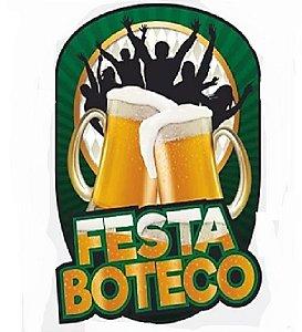 PAINEL DECORATIVO  FESTA BOTECO - 01 UNIDADE - NC TOYS