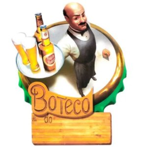 """PAINEL FESTA BOTECO HOMEM """"BOTECO DO """"  - 01 UNIDADE - REINO DAS FESTAS"""