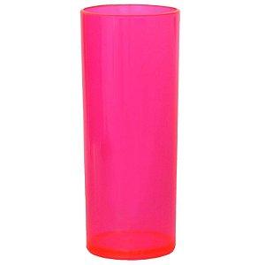 COPO LONG DRINK ROSA PINK FECHADO - 360 ML - 01 UNIDADE - DESCARFEST