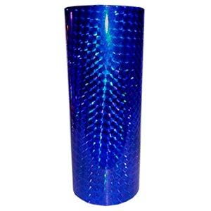 COPO LONG DRINK TRANSLUCIDO METALIZADO  HOLOG AZUL  - 360 ML - 01 UNIDADE - DESCARFEST