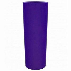 COPO LONG DRINK ROXO  - 360 ML - 01 UNIDADE - DESCARFEST