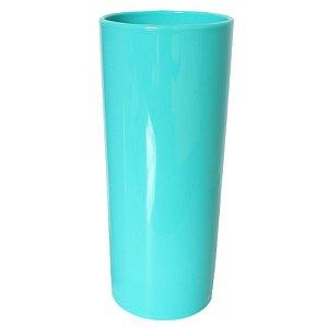 COPO LONG DRINK AZUL ESVERDEADO  FECHADO - 360 ML - 01 UNIDADE - DESCARFEST