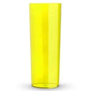 COPO LONG DRINK AMARELO TRANSLUCIDO - 360 ML - 01 UNIDADE - DESCARFEST