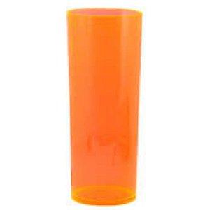 COPO LONG DRINK LARANJA TRANSLUCIDO - 360 ML - 01 UNIDADE - DESCARFEST