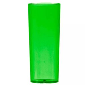 COPO LONG DRINK VERDE  TRANSLUCIDO - 360 ML - 01 UNIDADE - DESCARFEST