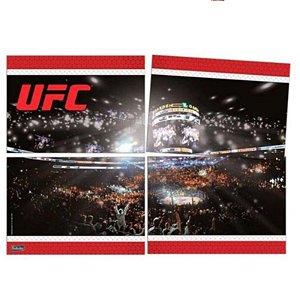 PAINEL PARA DECORAÇÃO GIGANTE 4 LÂMINAS - FEST UFC - 64 X 45 CM - FESTCOLOR
