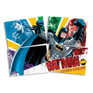 PAINEL DECORATIVO GIGANTE FESTA BATMAN - 1,28M X 90CM - FESTCOLOR