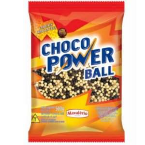 CHOCO POWER BALL  CEREAL  CHOCOLATE MISTO 500G - MAVALÉRIO