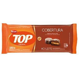 COBERTURA CHOCOLATE HARALD TOP - BARRA 1,050 KG - AO LEITE - HARALD