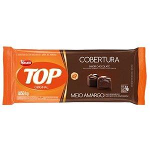 COBERTURA TOP MEIO AMARGO BARRA 1,050KG - HARALD