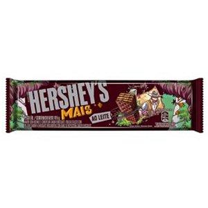 CHOCOLATE HERSHEYS MAIS AO LEITE 115G - HERSHEYS