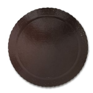 BASE PARA BOLO CAKE BOARD REDONDO MARROM 35 CM - ULTRAFEST