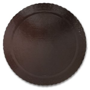 BASE PARA BOLO CAKE BOARD REDONDO MARROM 38 CM - ULTRAFEST
