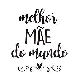 """TRANSFER PARA BALÃO G MELHOR MÃE DO MUNDO - 20"""" A 36"""" - CROMUS BALLOONS"""