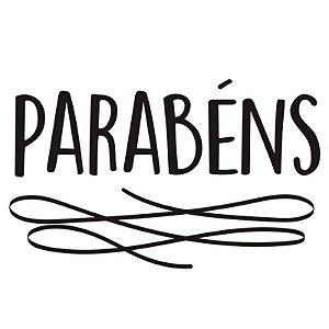 TRANSFER PARA BALÃO P - PARABÉNS - CROMUS BALLOONS