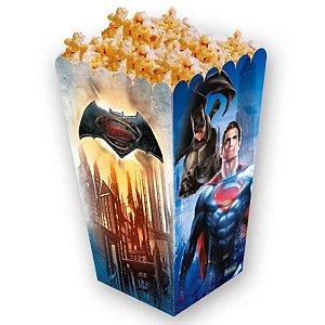 CAIXA PARA PIPOCA FESTA BATMAN VS SUPERMAN - CONTÉM 08 UNIDADES - FESTCOLOR